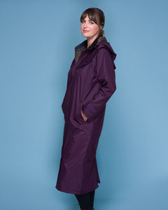Malvern Waterproof Coat - Blackberry
