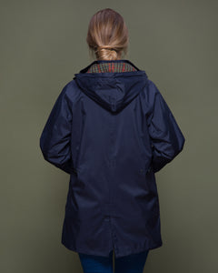 Oxford Waterproof Coat - Navy