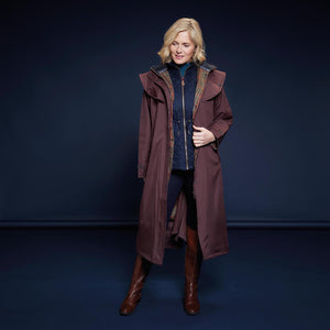 Malvern Waterproof Coat - Deep Claret