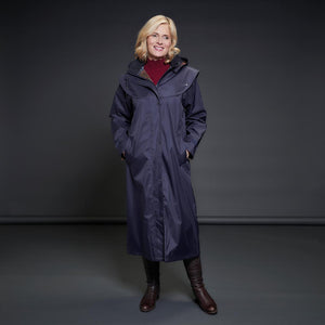 Malvern Waterproof Coat - Navy