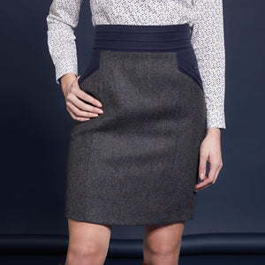 Norah Tweed Skirt