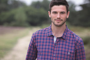 Monty Shirt - Navy Check