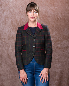 Sasha Tweed Jacket - Primary Green
