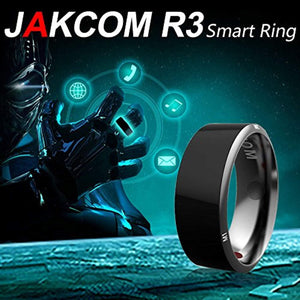 Size 7 xwsoka R3 Smart Ring Waterproof Dust-Proof Fall-Proof for NFC Electronics Mobile Phone Android Smartphone Wearable Magic App Enabled Rings Intelligent Devices