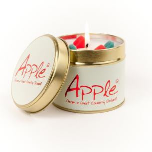 Lily-Flame Apple Candle