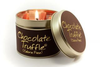 Lily-Flame Chocolate Truffle Candle
