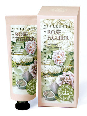 Fikkerts Rose Figuier Intensive Hand Cream (75ml)