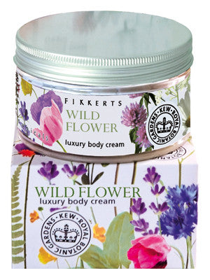 Fikkerts Wild Flower Luxury Body Cream (180ml)