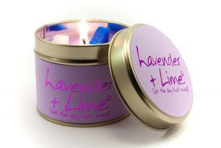 Lily Flame Lavender and Lime Candle