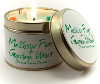 Lily-Flame Mellow Figs and Garden Mint Candle