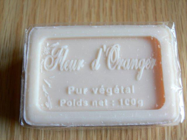 Savon de Marseille Orange Blossom (100gm)