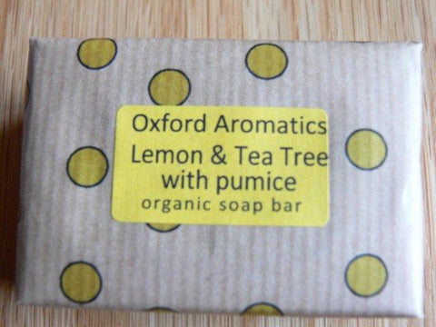 Oxford Aromatics Organic Lemon and Tea Tree Soap