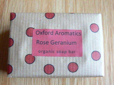 Oxford Aromatics Organic Rose Geranium Soap