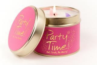 Lily-Flame Party Time Candle