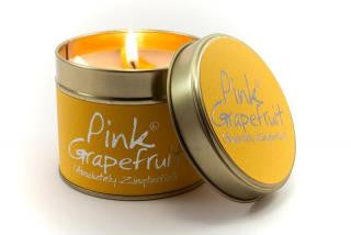 Lily-Flame Pink Grapefruit Candle