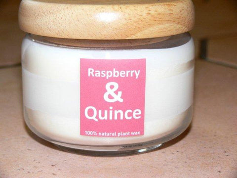Oxford Aromatics Raspberry and Quince Poplid Candle