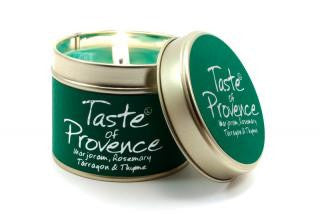 Lily-Flame Taste of Provence Candle