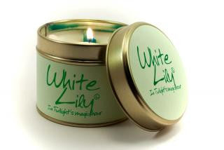 Lily-Flame White Lily Candle