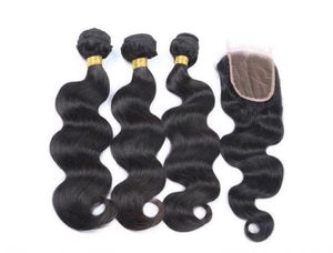 Body Wave Hair Bundles & Closure