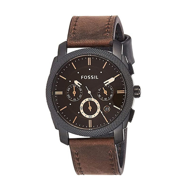 Fossil Watch Men Machine Mid-Size Chronograph