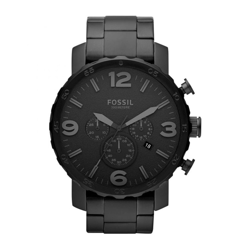 Chronograph Black Stainless