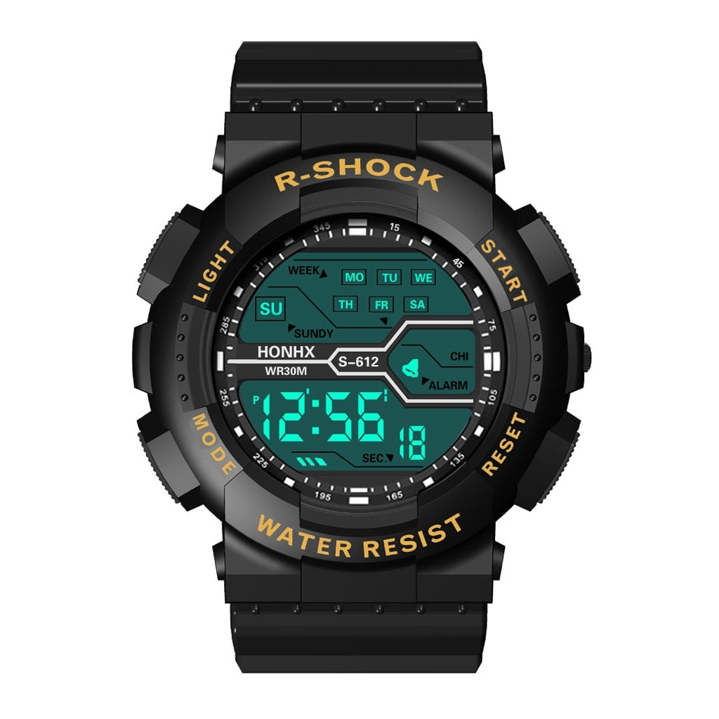 HONHX Luxury Digital Watch Military Army