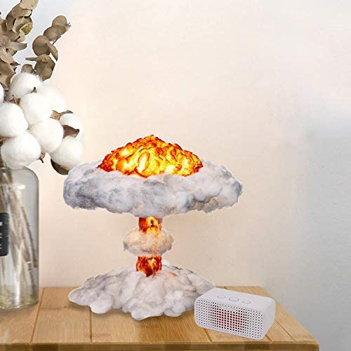 NuclearX-Mushroom Cloud Model Lamp