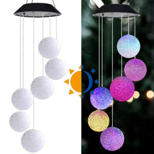 CrystalCity- LED Powered Chimes