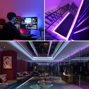 Wenlights-RGB LED Strip Lights