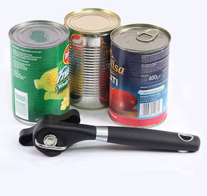 Zobermac- Smooth Edge Safe Cut Can Opener