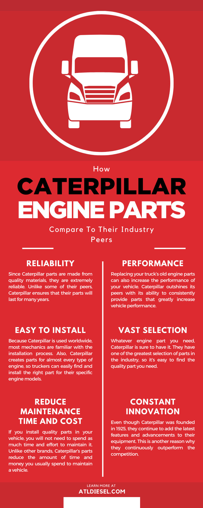 How Caterpillar Engine Parts Compare To Their Industry Peers