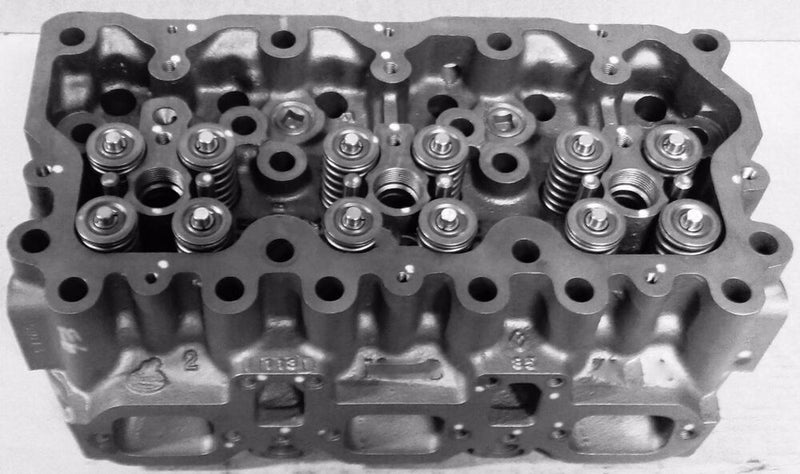 Reman MP7 Mack loaded cylinder head