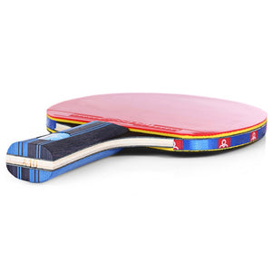 2Pcs Ping Pong Racket Long Handle Table Tennis Set With 3 Balls
