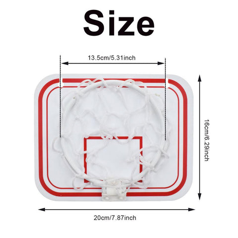 Image of TOP Portable Funny Mini Basketball Toys Kit Indoor Wall-Mounted Home Basketball Fans Sports Game Toy Set For Kids Children