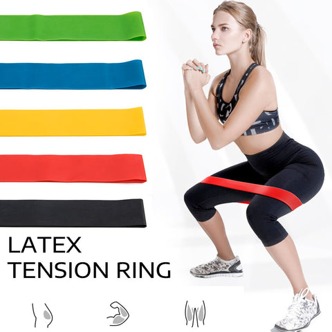 Yoga Band Pull Rope Resistance Bands Set Exercises Resistance Bands Natural Latex Bands  Body Fitness Training Pedal Excerciser