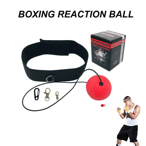 Image of Boxing Reflex Speed Punch Ball Head band Exercise Equipment