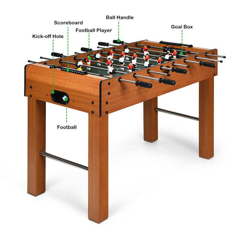 "GO PLUS 48"" Foosball Table Indoor Soccer Game TY246800"