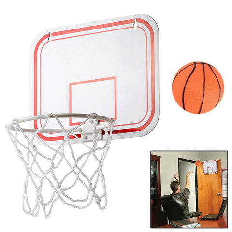 TOP Portable Funny Mini Basketball Toys Kit Indoor Wall-Mounted Home Basketball Fans Sports Game Toy Set For Kids Children