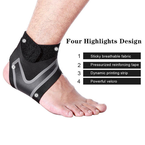 Image of 1 pc Fitnes Outdoor Sports Anti-spinning Ankle Guards