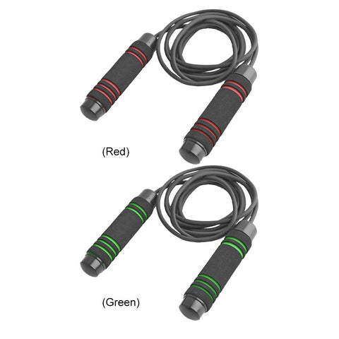 Image of 3m Durable Rubber Adjustable Skipping Rope or Speed Jump Rope