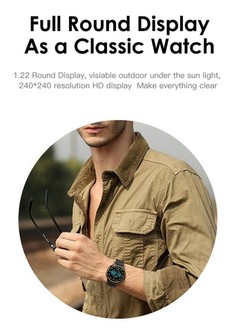 Image of L8 Smart Watch Men IP68 Waterproof SmartWatch With ECG PPG Blood Pressure Heart Rate sports fitness watches