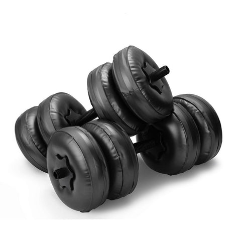 35-55lb Flexible Fitness Water-filled Dumbbell Bodybuilding Equipment