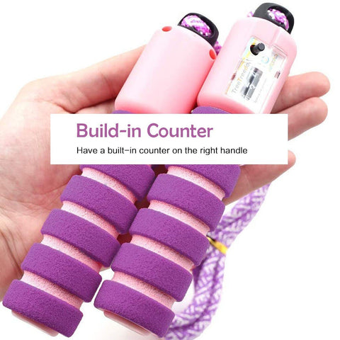 FREE TODAY!: Professional sponge Jump Rope with Counter