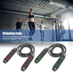 3m Durable Rubber Adjustable Skipping Rope or Speed Jump Rope