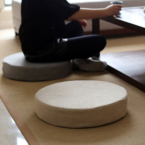 Garden Furniture Cushion Round Pad for Meditation