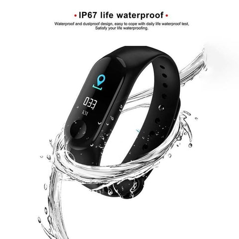 FREE TODAY!: Outdoor fitness equipment Blood Pressure Fitness Tracker Watch