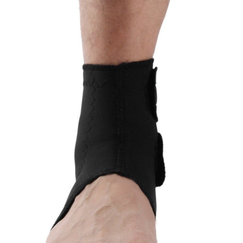 Image of Tightness Black Ankle Protector Sports Ankle Support Elastic Ankle Brace Guard Foot Support Sports Gear Gym