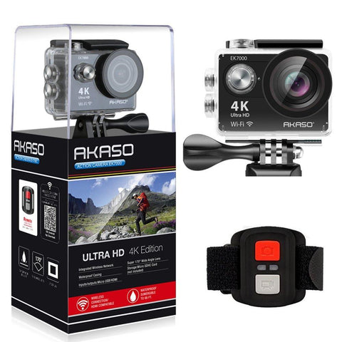AKASO EK7000 4K WIFI Waterproof Outdoor Action Camera Video