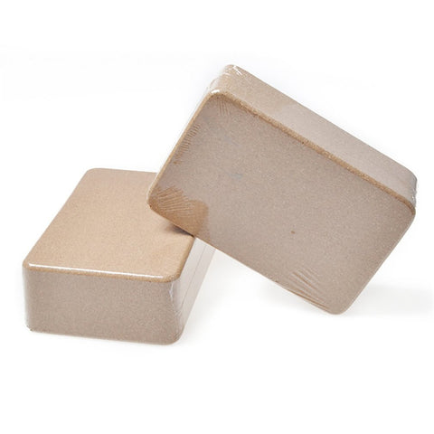 slimming Green Yoga Cork Yoga Brick High Density Fitness Brick Yoga Accessories