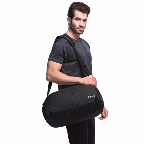 GONEX 38L Ultralight Packable Duffle Shoulder Bag